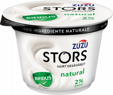 ZUZU STORS IAURT NATURAL BIFIDUS 2% 150G