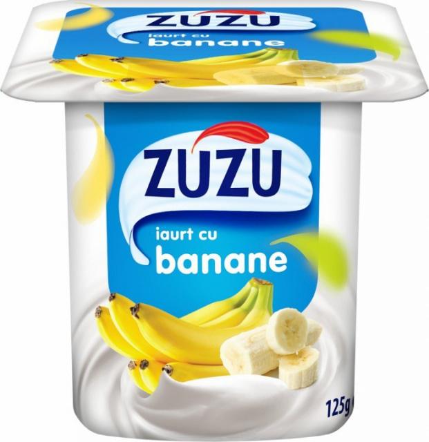 ZUZU IAURT CU BANANE 125G