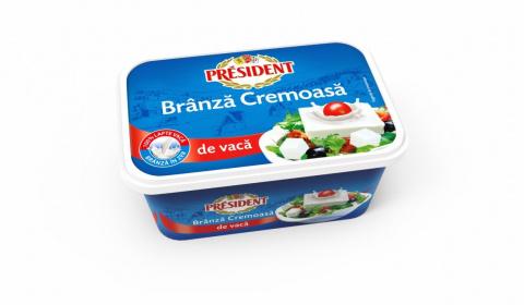 PRESIDENT BRANZA CREMOASA DE VACA 250G