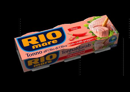 RIO MARE TON PICANT IN ULEI DE MASLINE 3*80G