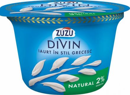 ZUZU DIVIN IAURT NATURAL 2%GR 150G
