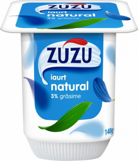 ZUZU IAURT NATURAL 3%GR 140G