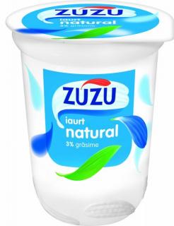 ZUZU IAURT NATURAL 3%GR 400G