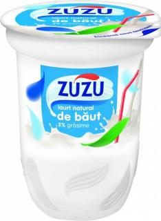 ZUZU IAURT NATURAL DE BAUT 2%GR 350G