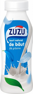 ZUZU IAURT NATURAL DE BAUT 2%GR 320G