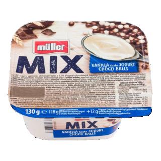 MULLER MIX CIOCO BILUTE 130G
