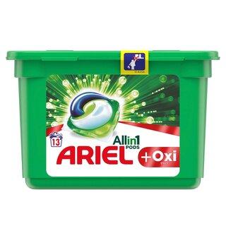 ARIEL CAPSULE PLUS OXI PODS 13*30ML