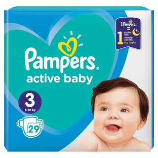 PAMPERS ACT BABY 3 6-10KG CP(29)