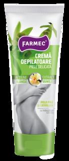 FARMEC CREMA DEPILATOARE P.SENSIBILA VANILIE 150ML