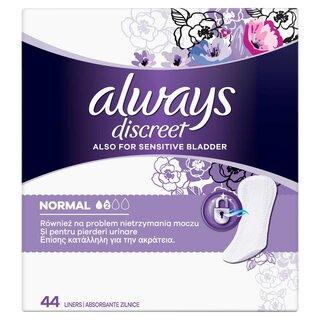 ALWAYS DISCREET LINERS NORMAL (44)