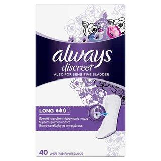 ALWAYS DISCREET LINERS LONG (40)