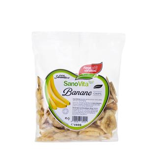 SANO VITA BANANE CHIPS 150G