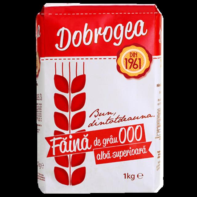 DOBROGEA FAINA ALBA SUPERIOARA 000 1KG