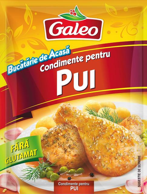 GALEO CONDIMENTE PENTRU PUI 20G