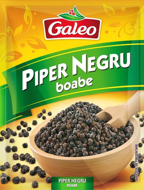 GALEO PIPER NEGRU BOABE 17G