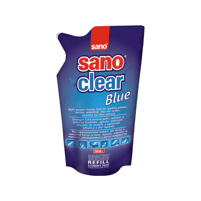 SANO CLEAR BLUE REFF 750ML