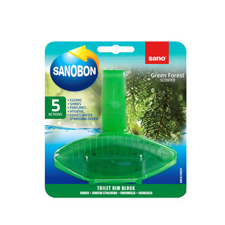 SANO SANOBON 5IN1 GREEN FOREST SCENTED 55G