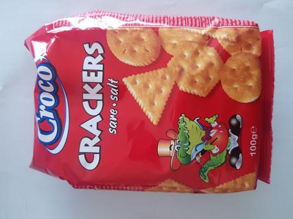 CROCO CRACKERS SARE 100G