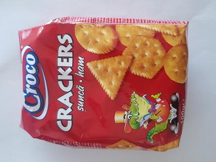 CROCO CRACKERS SUNCA 100G