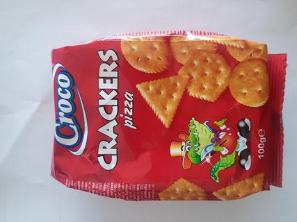 CROCO CRACKERS PIZZA 100G