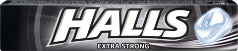 HALLS DROPS EXTRA STRONG 33.5G