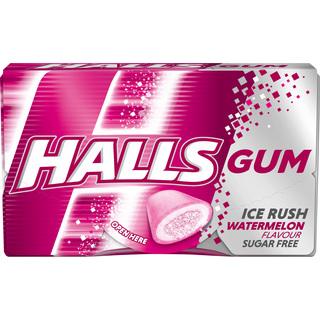 HALLS GUMM WATERMELON 18G