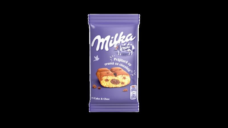 MILKA PRAJITURA CAKE&CHOC 35G