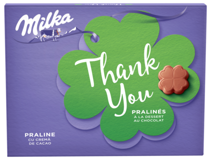 MILKA PRALINE THANK YOU 110G
