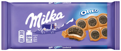 MILKA CIOCOLATA OREO SANDWICH 92G