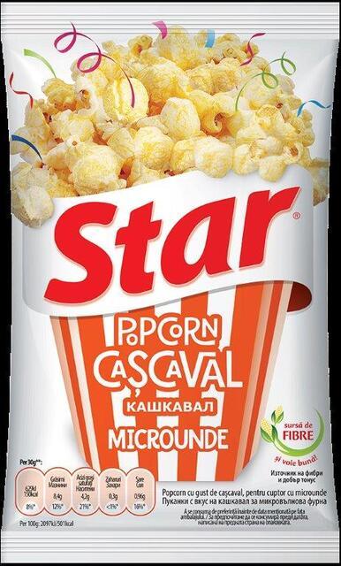 STAR POPCORN MICRO CASCAVAL 80G