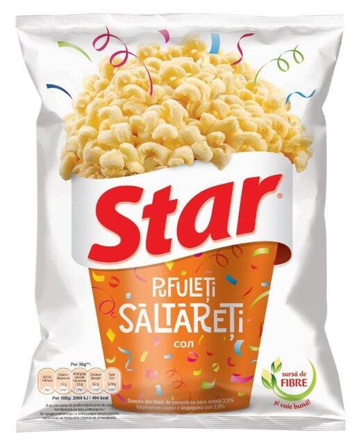 STAR SNACKS SALTY POPS 80G
