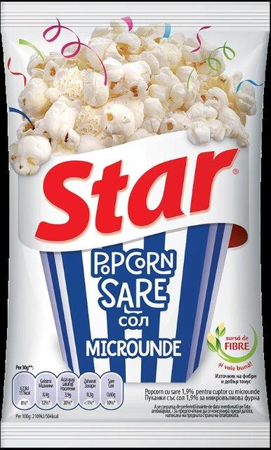 STAR POPCORN MICRO SARE 80G