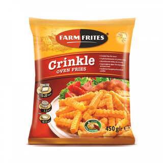 FARM FRITES OVEN CRINKLE 450G