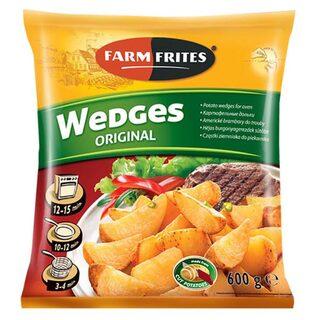 FARM FRITES WEDGES CARTOFI 600G