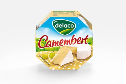 DELACO CAMEMBERT 120G
