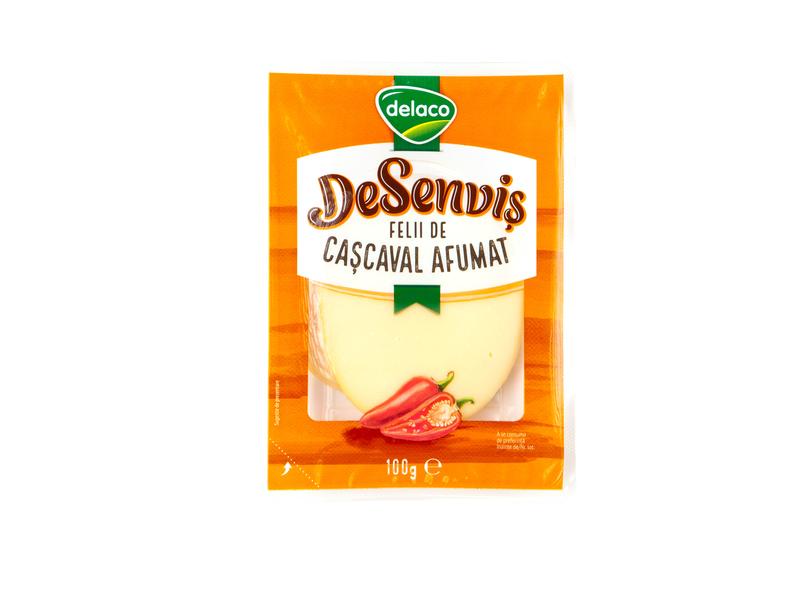 DELACO DESENVIS CASCAVAL AFUMAT FELII 100G
