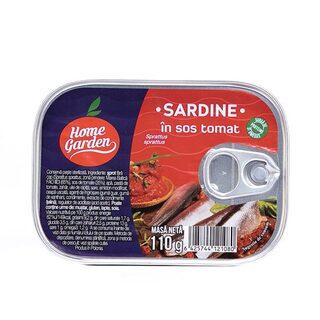 H.G. SARDINE IN SOS TOMAT 110G