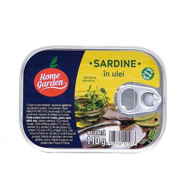 H.G. SARDINE IN ULEI 110G