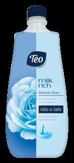 TEO MILK RICH SAPUN LICHID DELICATE ROSE 800ML