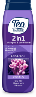 TEO NATURE 2IN1 SAMPON CORALS 400ML