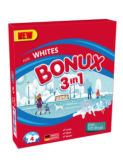 BONUX 3IN1 AUTOMAT WHITE ICE FRESH 400G