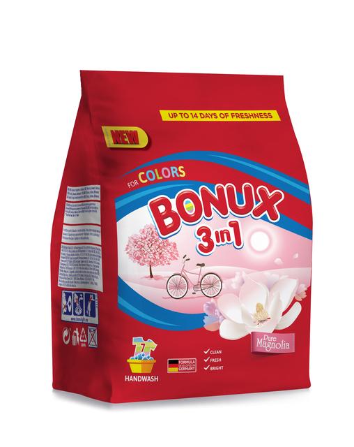 BONUX 3IN1 MANUAL COLOR MAGNOLIA 400G