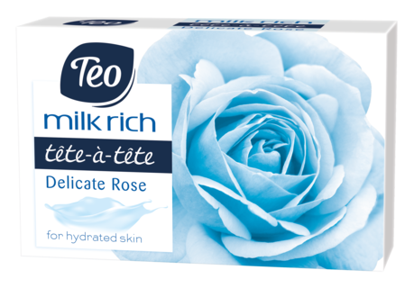 TEO MILK RICH SAPUN SOLID DELICATE ROSE 100G