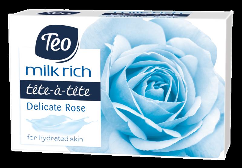 TEO MILK RICH SAPUN SOLID DELICATE ROSE 100G