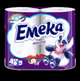 EMEKA HARTIE IGIENICA PARADISE 4ROLE