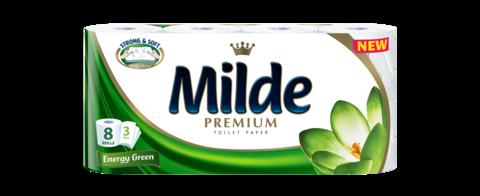 MILDE HARTIE IGIENICA ENERGY GREEN 8ROLE