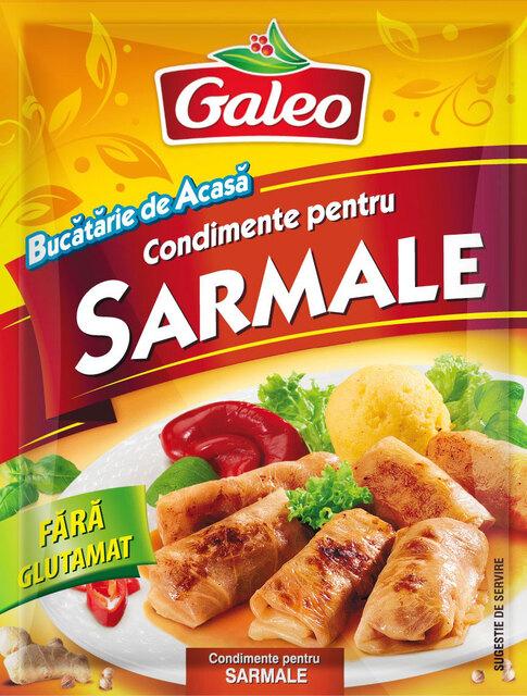 GALEO CONDIMENTE PENTRU SARMALE 20G