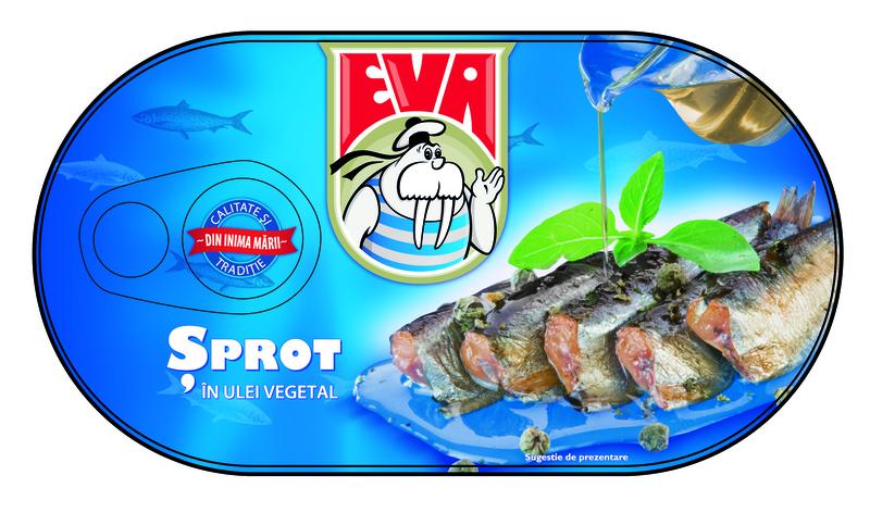 EVA SPROT IN ULEI VEGETAL 170G