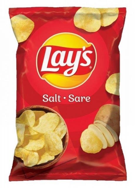 LAY'S CHIPS SALT 60G