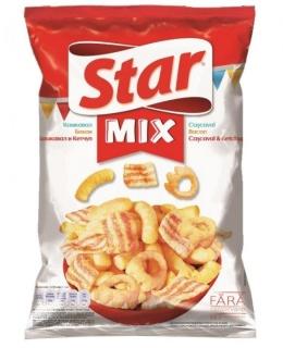 STAR SNACKS MIX CHEESY 90G
